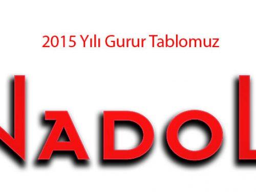 2015 Yılı Gurur Tablomuz