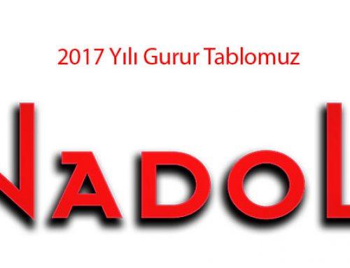 2017 Yılı Gurur Tablomuz