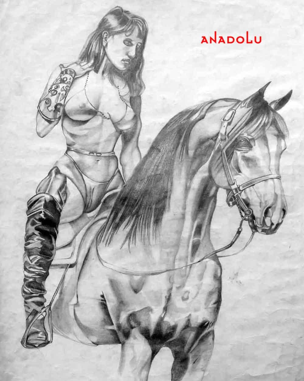 Atlar ve Kadınlar Antalyada