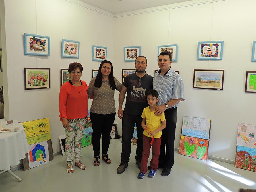 Antalyada Çocuk Sergileri