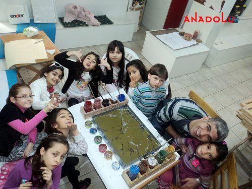 Çocuklar İçin Sanat Eğitimi Antalyada