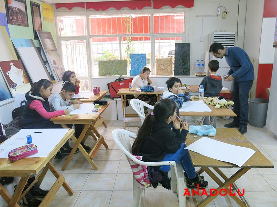 Çocuklar İçin Geliştirilebilir Yetenek Eğitimleri Devam Etmekte Antalyada