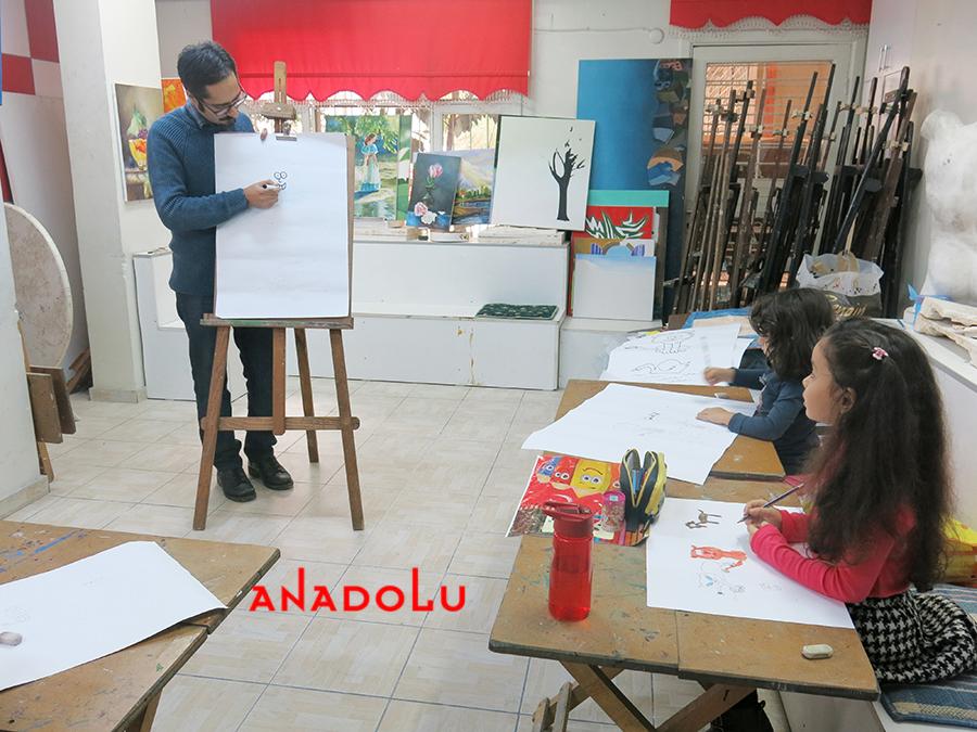 Çocuklar İçin Çizim Eğitimleri Antalyada