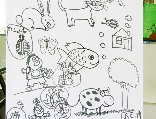 Antalyadaki Hareketli Hayvan Çizim Örnekleri