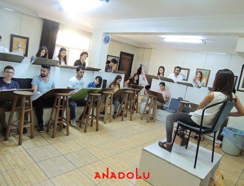 Antalyadaki Resim Kursu Ortam Videoları