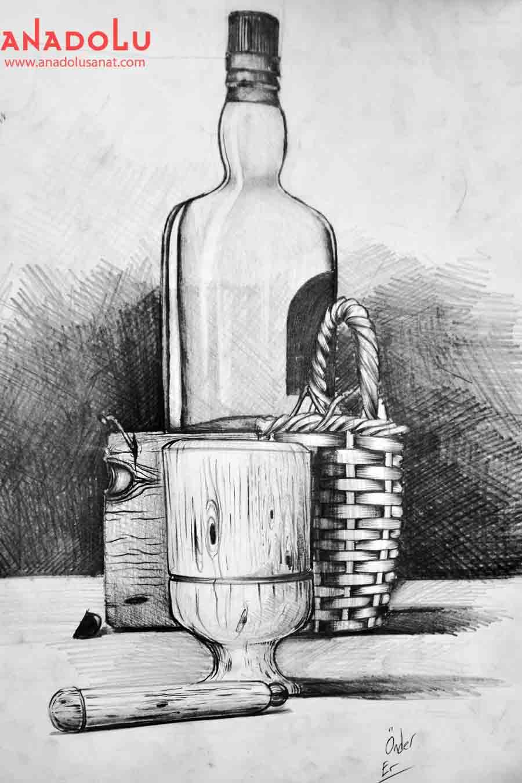 Obje Çizim Çalışmaları Antalyada