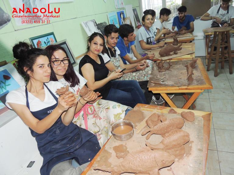 Heykel Dersleri Hobi Grupları Antalya