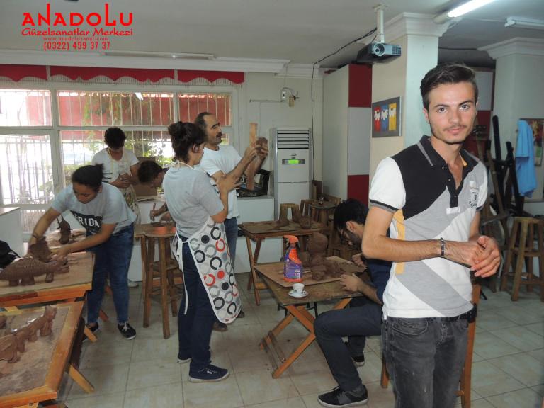 Heykel Grup Dersleri Kilden Tasarımlar Antalyada