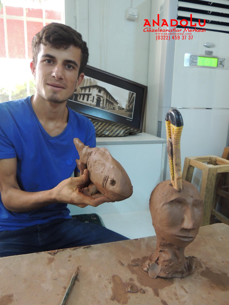 Kilden Balık Heykel Yapımı Hobi Grupları Antalya