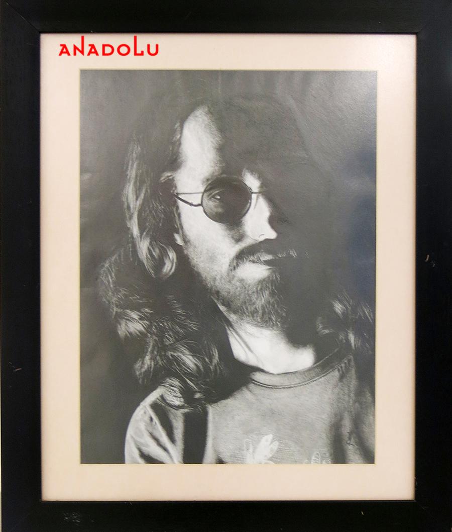Serhan Yüzer Karakalem Portresi