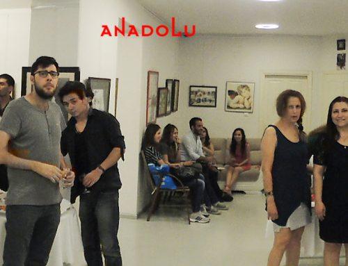 Antalyadaki  Belediyesinin Açılan Sanat Sergisi