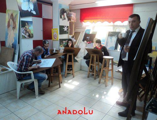 Antalyadaki GSF ' ye Hazırlık Sanat Eğitim Derslerimiz
