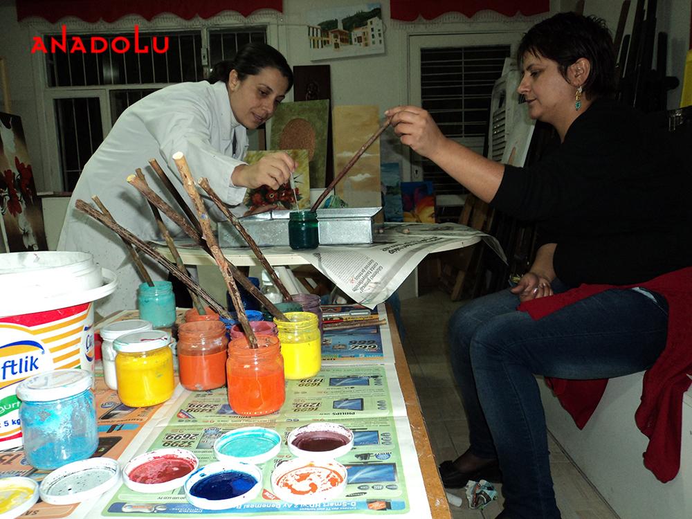 Geleneksel Ebru Kursları Antalyada