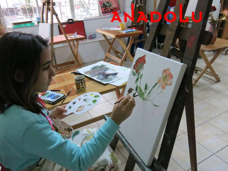 Çocuklar İçin Yazlık Sanat Eğitimleri Antalyada