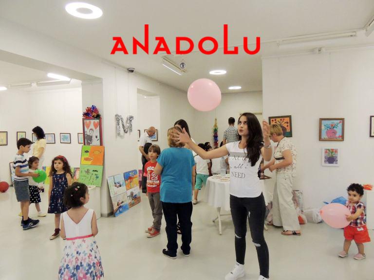 Çocuklar İçin Sanatsal Atölye Çalışmaları Antalyada