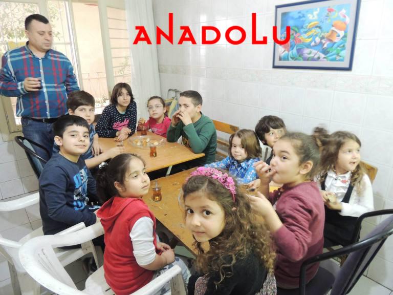 Çocuklarla Bilim Sanat Etkinlikleri Antalyada