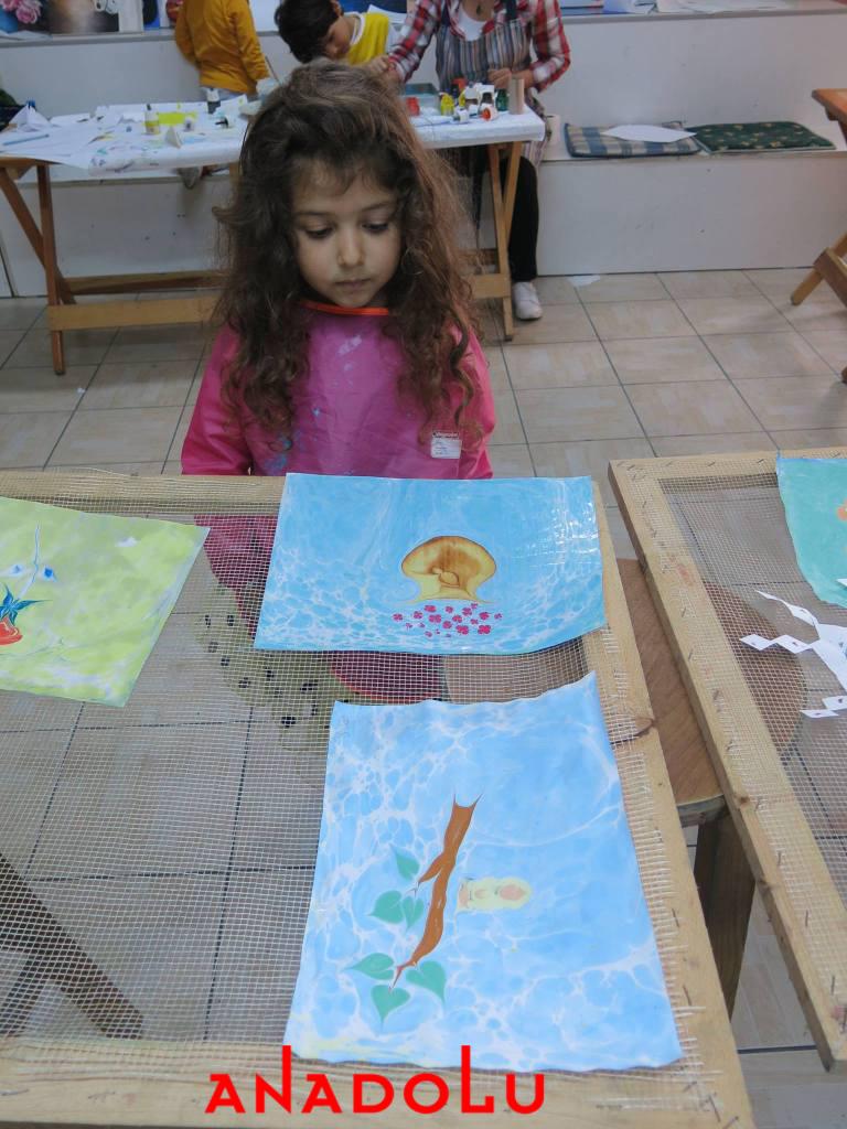 Özel Ebru Kursları Antalyada