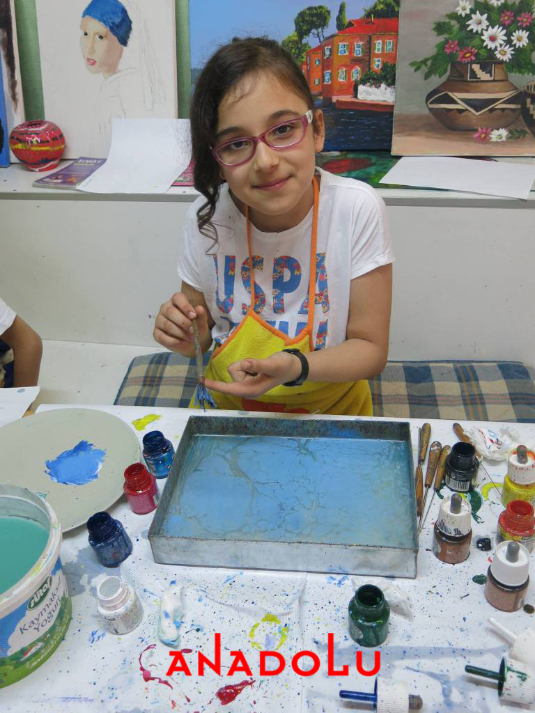 Antalyada Çocuklar İçin Özel Ebru Kursları