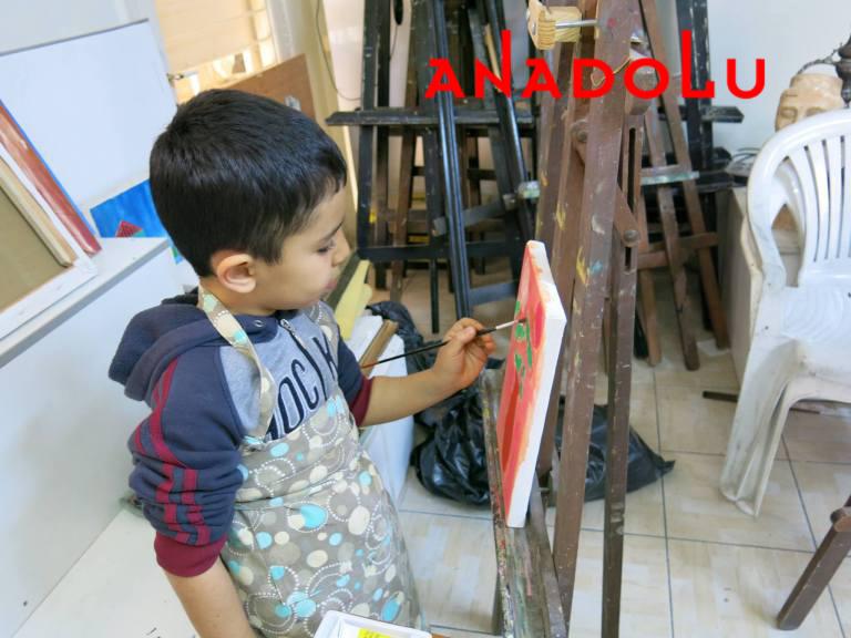 Çocuklara Yönelik Sanat Dersleri Antalyada