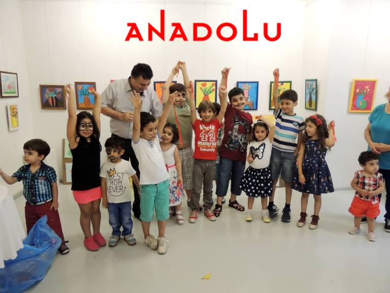 Çocuklara Yönelik Resim Sergisi Antalyada