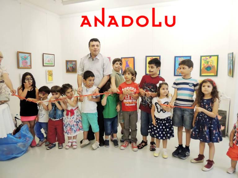 Antalyada Çocuklara Yönelik Resim Sergileri