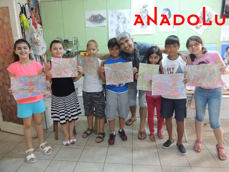 Çocuklar İçin Ebru Kursları Antalyada