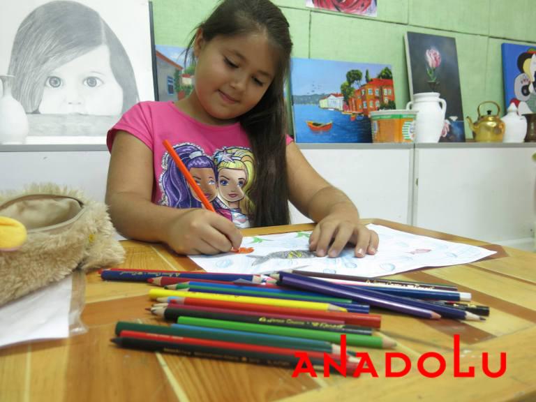 Antalyada Çocuklar İçin Resim Eğitimleri