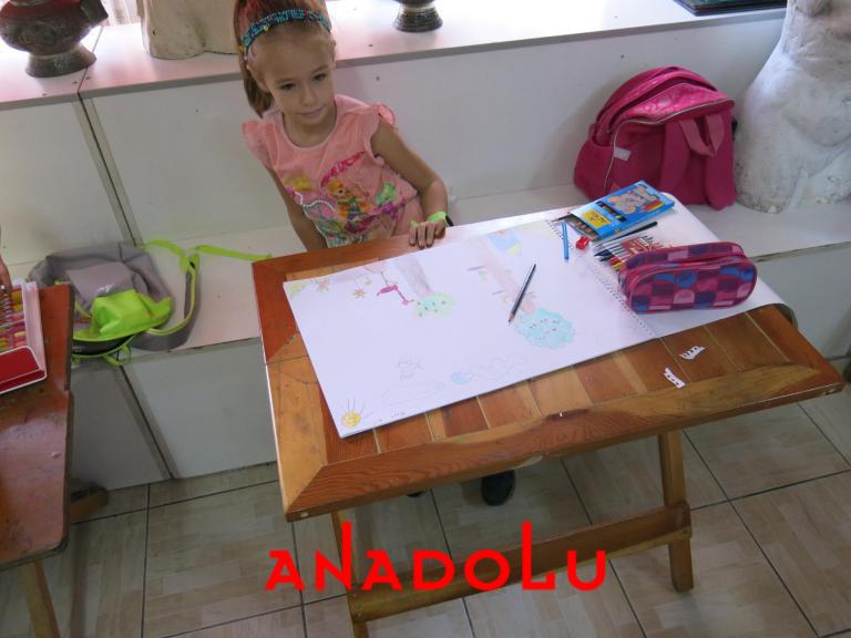 Çocuklar Yönelikler Güzel Sanatlar Kursu Antalyada