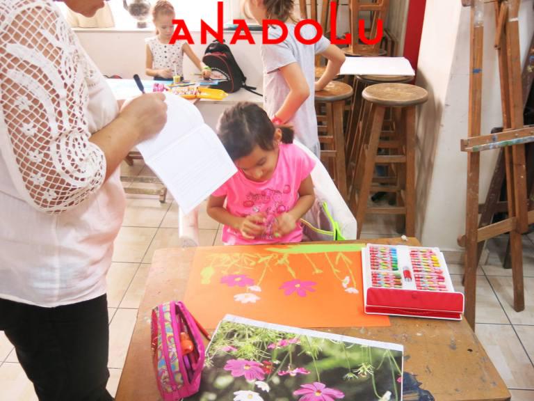 Çocuklar İçin Güzel Sanatlar Kursu Antalyada