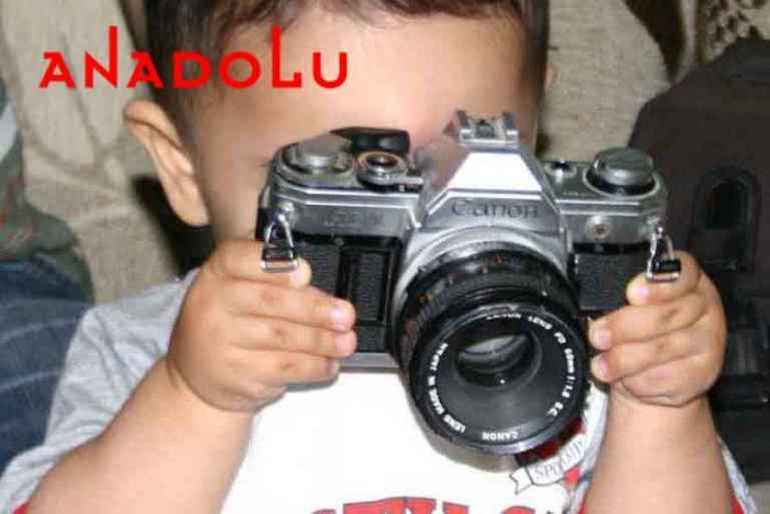 Fotoğraf Çeken Bebek Antalyada