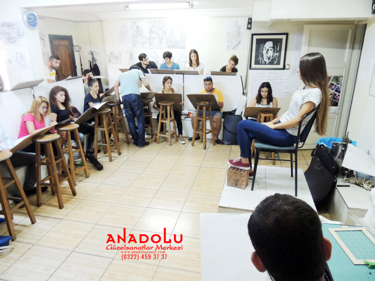 GSF Hazırlık Kursundan Model Çalışması Antalyada