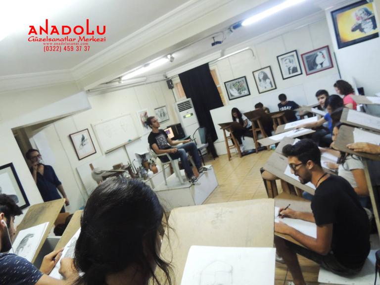 Anadolu Güzel Sanatlar Sanat Kursları Antalyada