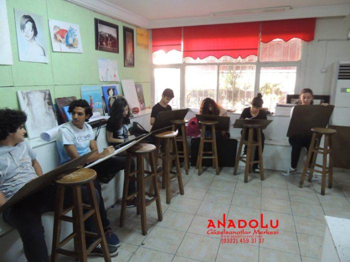 Anadolu Güzel Sanatlar Liselerine Hazırlık Kursları Antalyada
