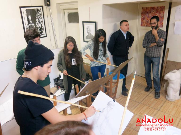 Güzel Sanatlar Fakülteleri İçin Hazırlık Dersleri Antalyada