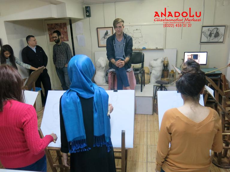 Güzel Sanatlar Fakülteleri İçin Hazırlık Kursları Antalyada