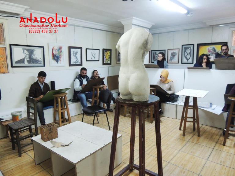 Güzel Sanatlar Fakülteleri İçin Çizim Kursları Antalyada
