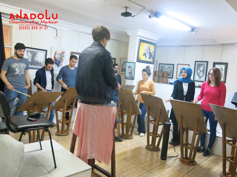 Güzel Sanatlar Fakülteleri İçin Yetenek Kursları Antalyada