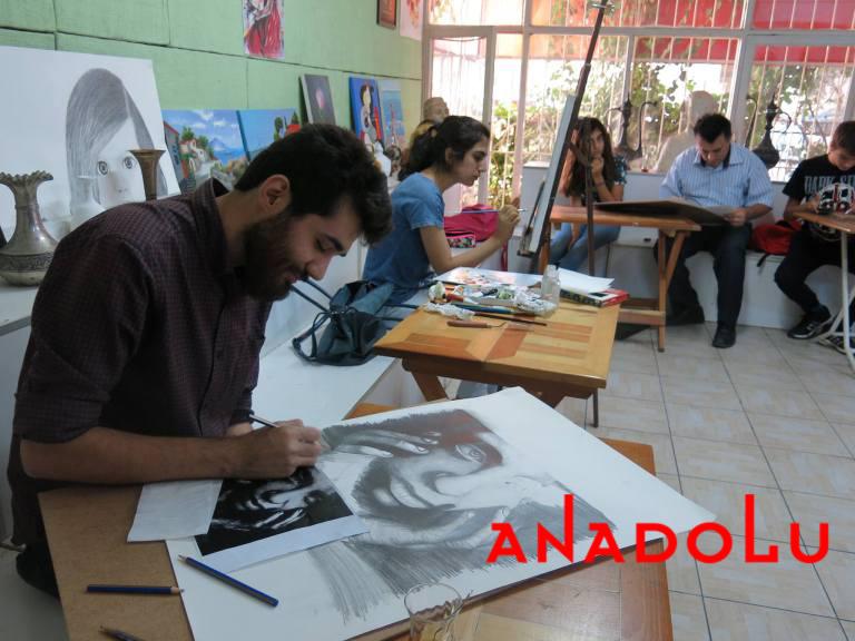 Karakalem Potre Çizimleri Teknik Sınıflar Antalyada