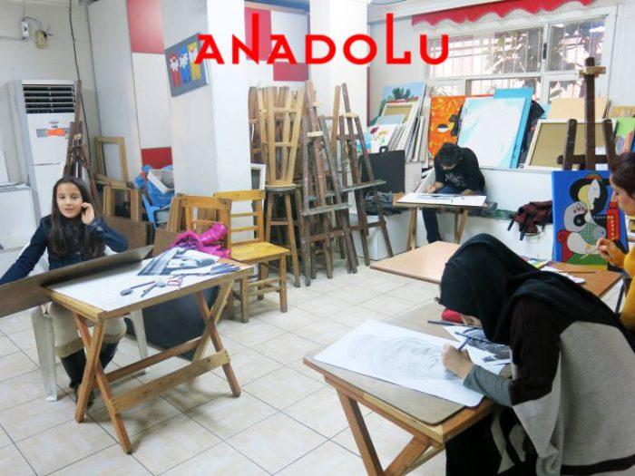 Üniversite Hazırlık Grupları Çizim Dersleri Antalyada