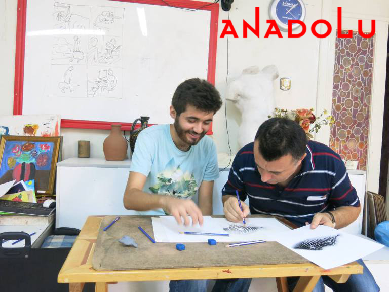 Karakalem Dersleri Potre Çizimi Antalya