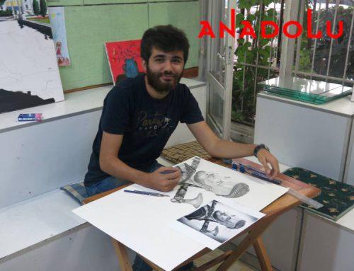 Antalyadaki Sulu Boya Manzara Teknik Çalışmaları