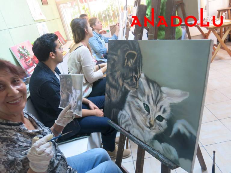 Yağlı boya Hobi Çizim Kursları Antalyada