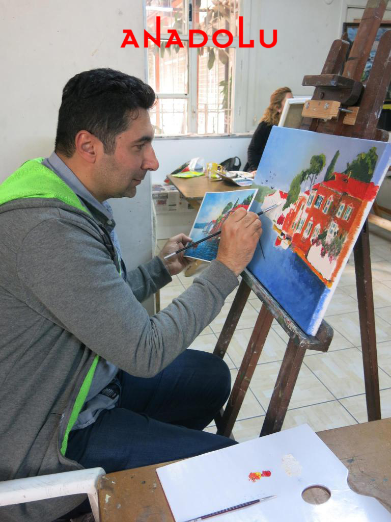 Yağlı boya Dersleri Hobi Grupları Antalya