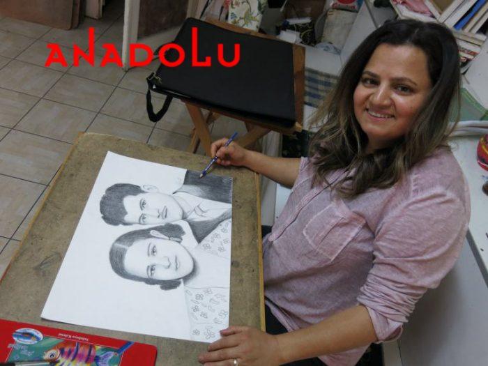 Karakalem Potre Çalışmaları Hobi Grupları Antalya