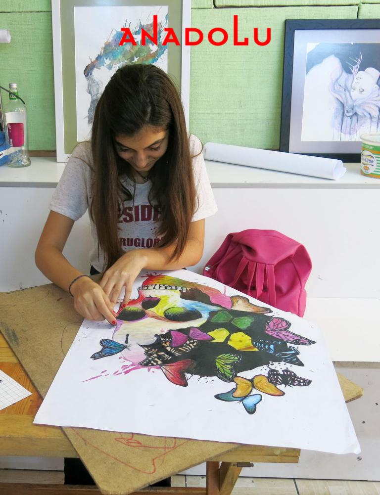 Pastel Boya Dersleri Hobi Grupları Antalya