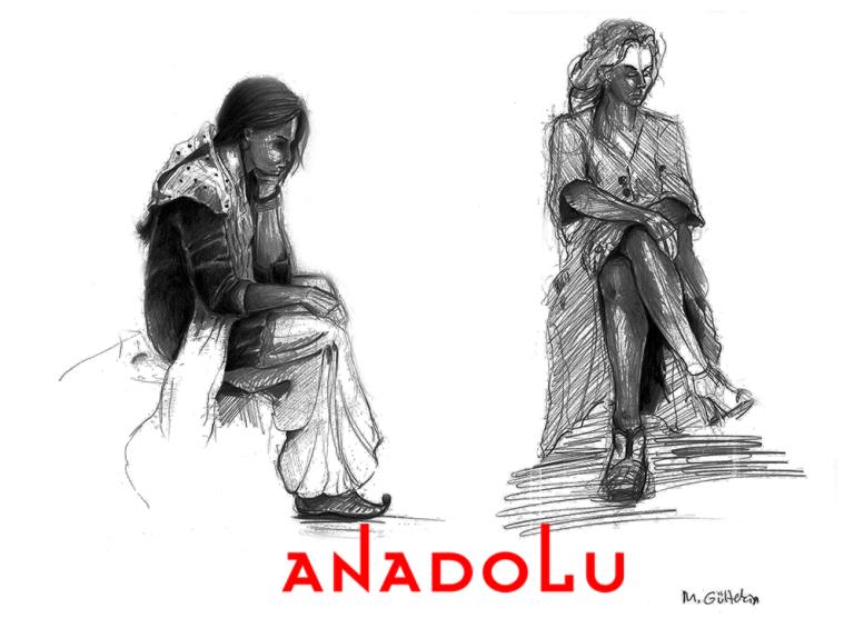 Karakalem İnsan Çizim Modelleri Antalyada