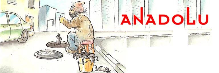 Antalyada Karikatür Çizimleri