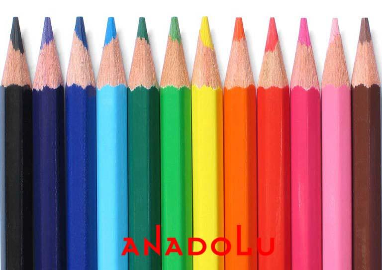 renkli resim kalemler Antalyada