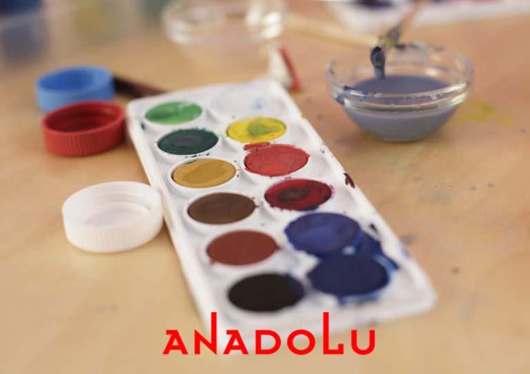 Sulu Boya Malzemeleri Antalyada