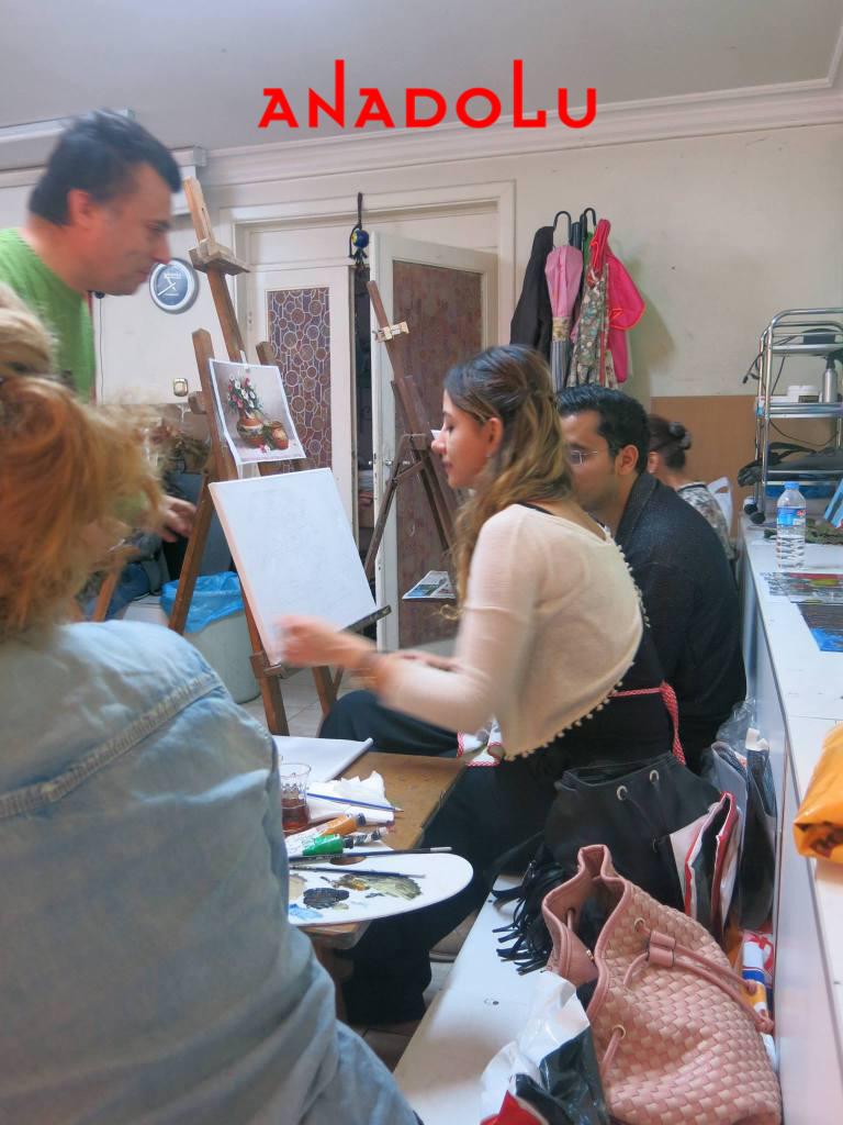 Yağlı Boya Sanat Atölyeleri Antalyada